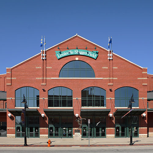 Louisville Slugger Field with HNTB Sports