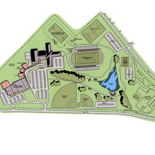 North Oldham Campus Masterplan