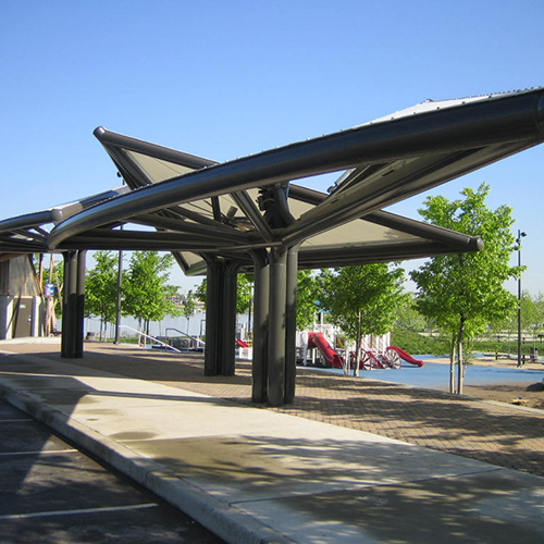 Waterfront Park Shade Pavilion
